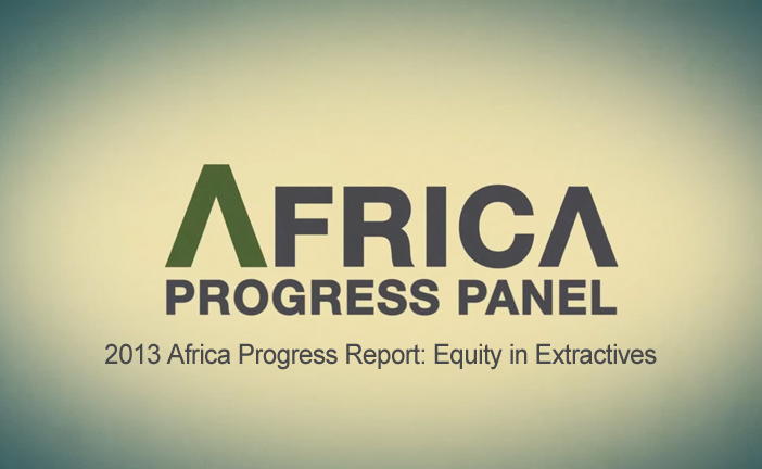 2013 Africa Progress Report: Equity in Extractives