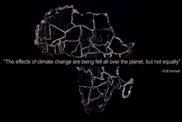 """The effects of climate change are being felt all over the planet, but not equally"" – Kofi Annan"